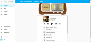 Radio bellerofonte in Home Assistant