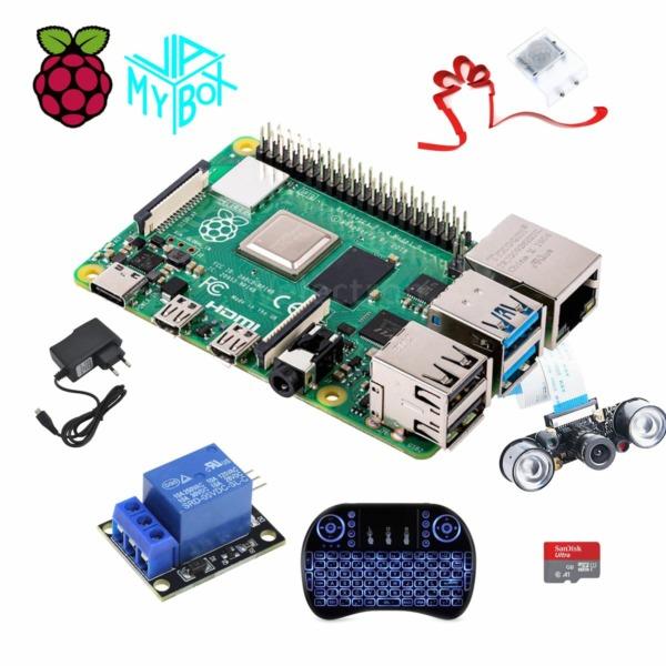 Raspi3A+caseA+Keyboard+1channel Relay+Ncam
