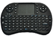 2.4 GHz wireless mini keyboard and mouse with touchpad
